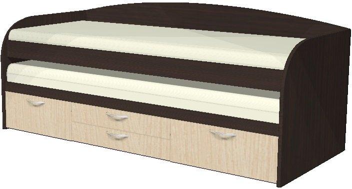 Кровать СН-108.02. венге