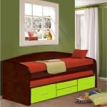 Кровать двухъярусная сн-108.02
