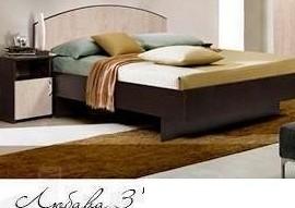 Кровать двуспальная Любава-3