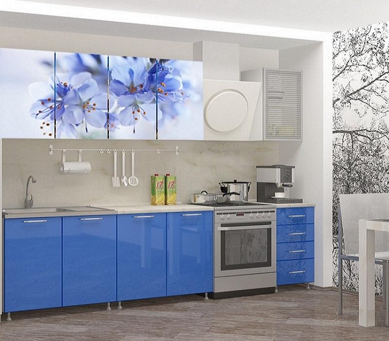 Кухня с фотопечатью Лара 2.0 метра