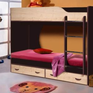 Кровать двухъярусная Крепыш-1