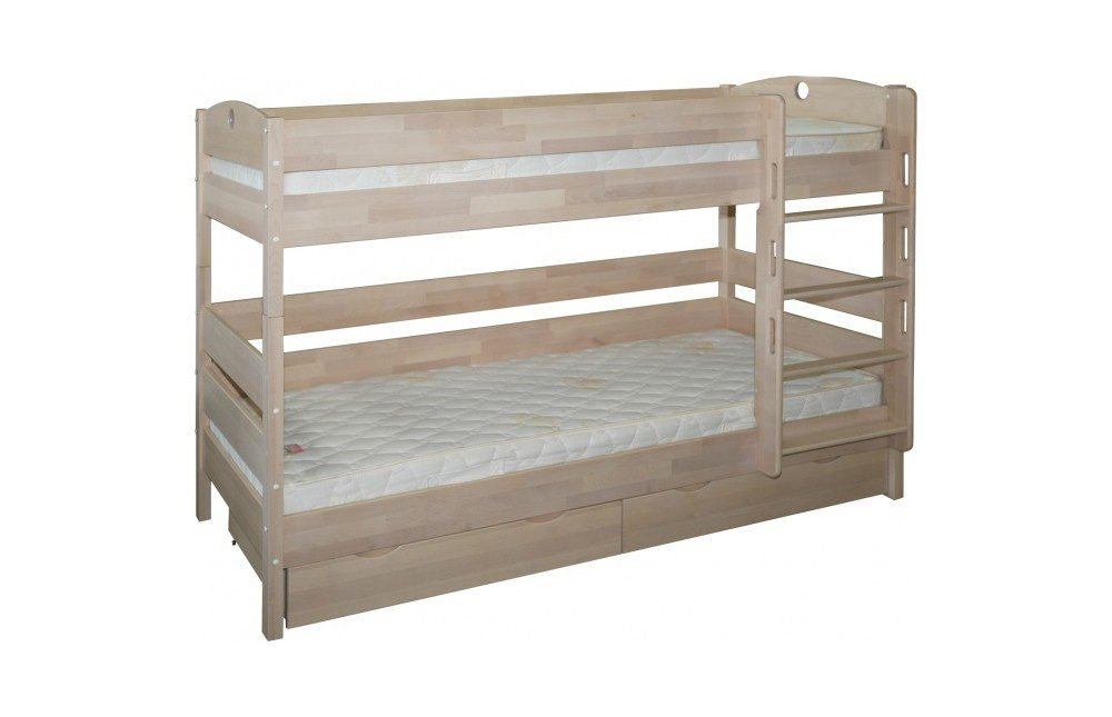 Двухъярусная кровать массив березы