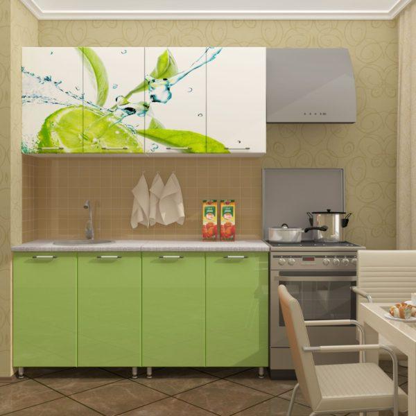 Кухня Лайм 1.8 метра