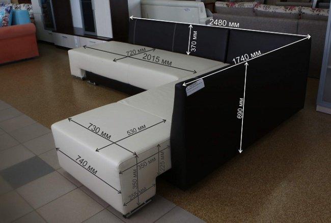 Угловой диван Премьер Боровичи-мебель