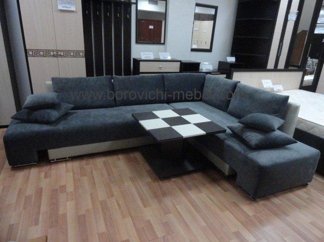 Угловой диван-трансформер Премьер