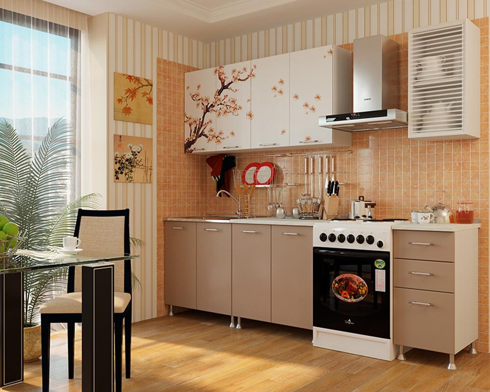 сакура дизайн кухни фото