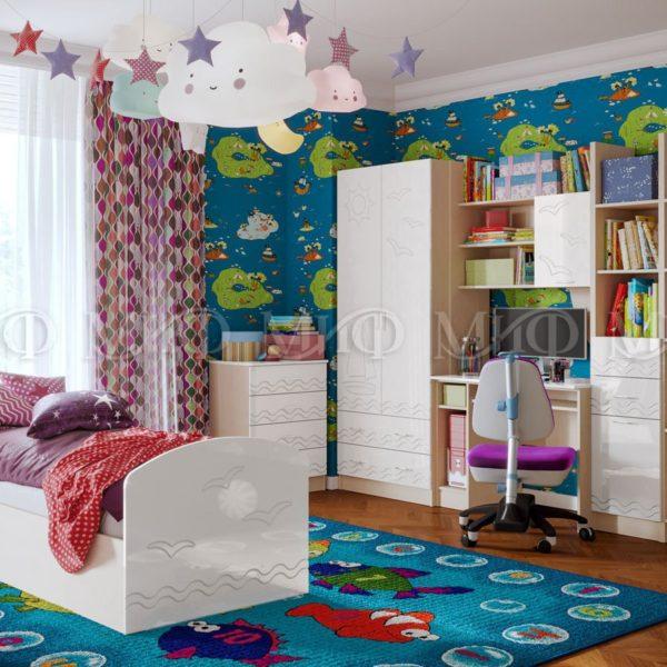 Детская комната Юниор-2 с кроватью