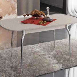 Стол обеденный раздвижной дуб молочный