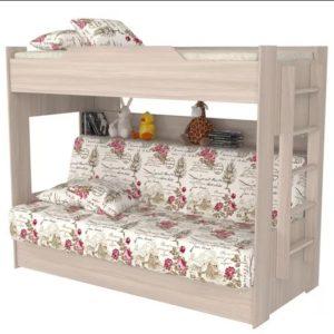 Кровать двухярусная Прованс