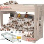 Кровать Прованс с диваном и матрасом