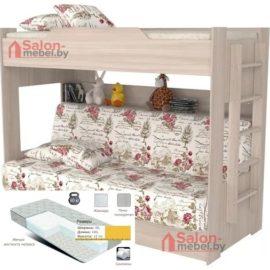 Кровать Прованс с диван-кроватью
