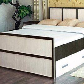 Кровать двуспальная Сакура с ящиками (1.6 метра)