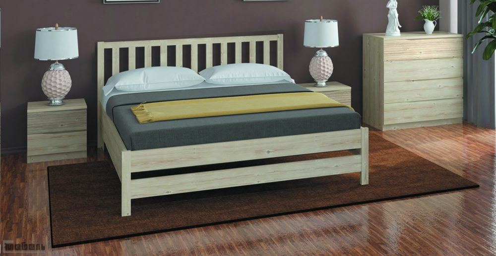 Кровать двуспальная Массив 1600