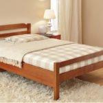 Кровать полуторная Новь 1200