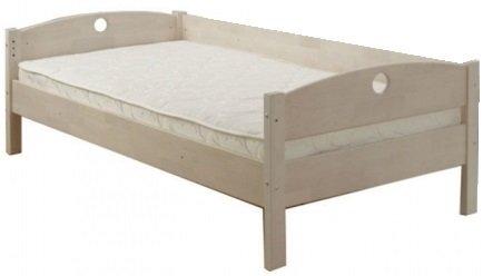 Кровать односпальная Массив без ящиков