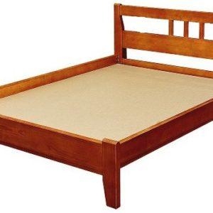 Полуторная кровать Массив-2 с одной спинкой 1200х2000 мм