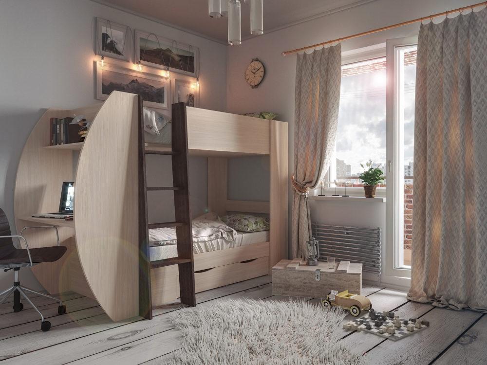 Кровать-чердак Анеси-2