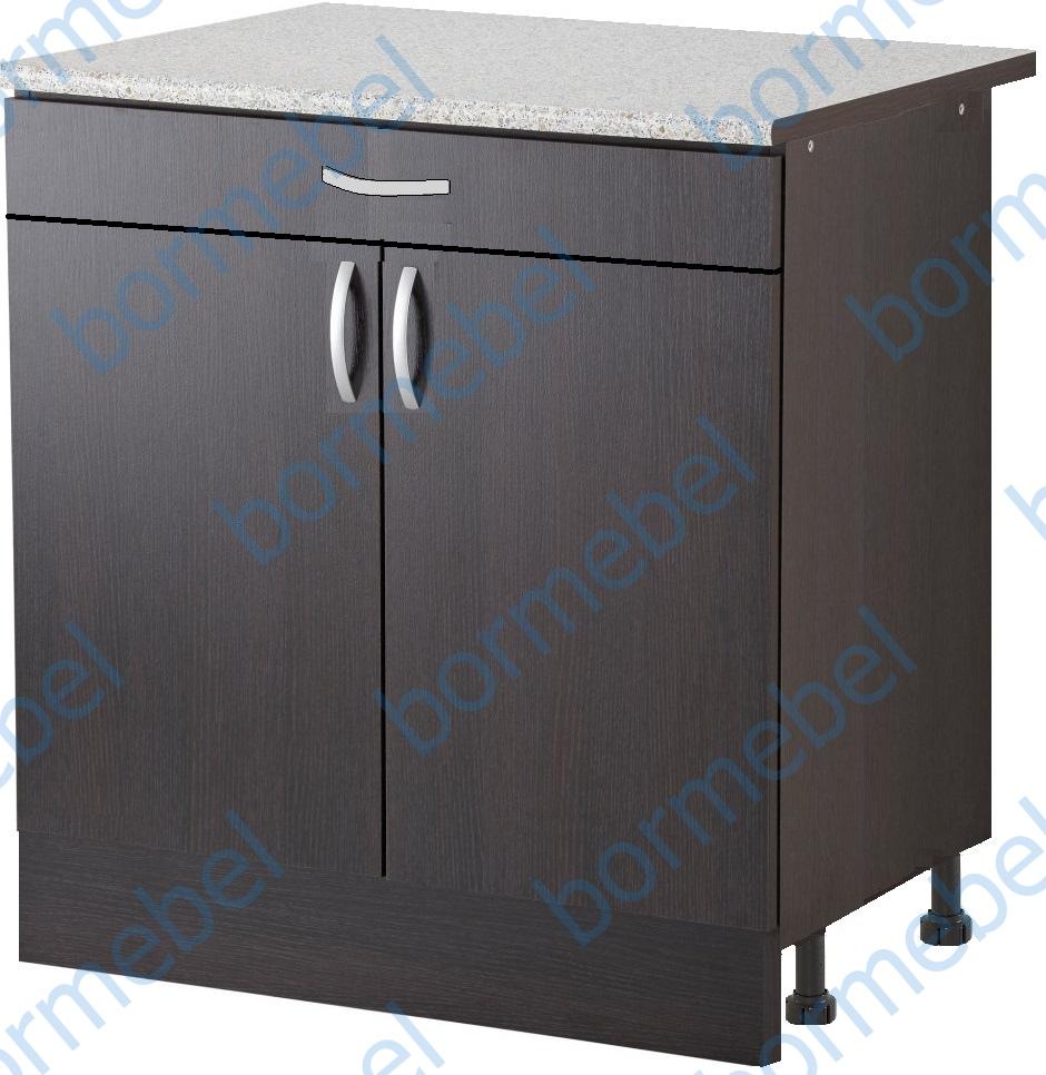 Шкаф с рабочей поверхностью с шуфлядой
