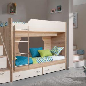Кровать двухъярусная Крепыш-16
