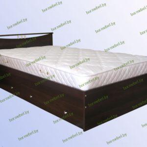 Односпальная кровать Мелисса 900 венге с ящиками