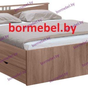 Кровать двухспальная Мелисса 1400 с ящиками